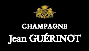 Logo Champagne Jean Guerinot - blanc